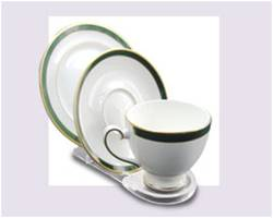 Cup Saucer Plate stand in Acrylic product image
